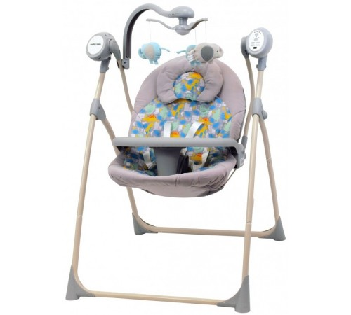 baby mix lcp-sw102rc din leagan cu muzic si vibratie r/c verde