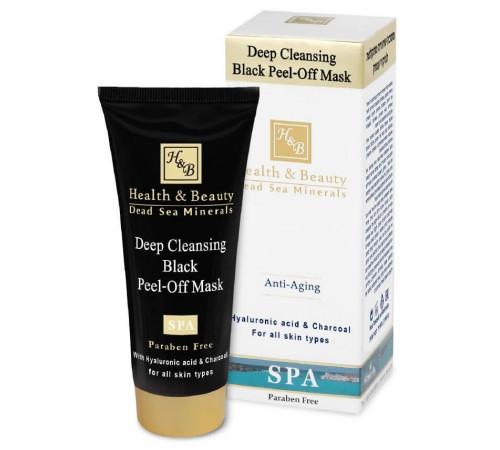 health & beauty 44.141 Черная Маска-пленка для глубокой очистки кожи (100 мл.)