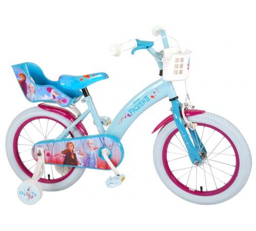 "volare Велосипед ""frozen2 16"" 91650-ch  голубой"
