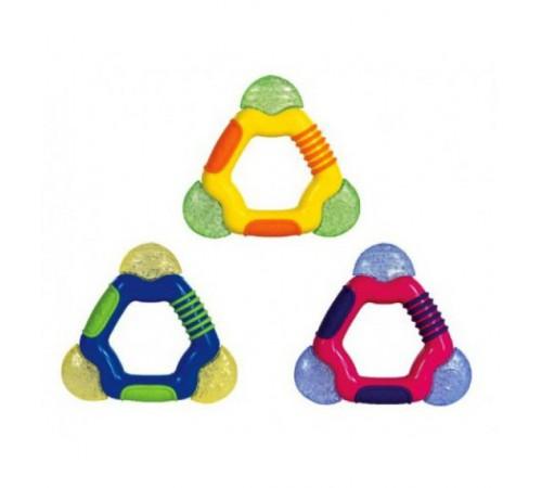 """Игрушки в Молдове nuby id451 Прорезыватель с термогелем """"Треугольник"""" в асс."""