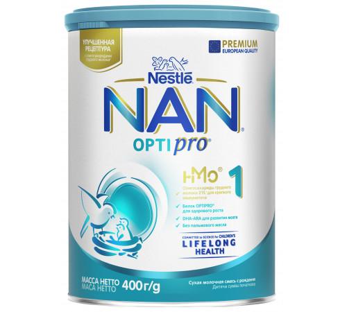 nestle nan optipro 1 (0-6m)  400 gr.