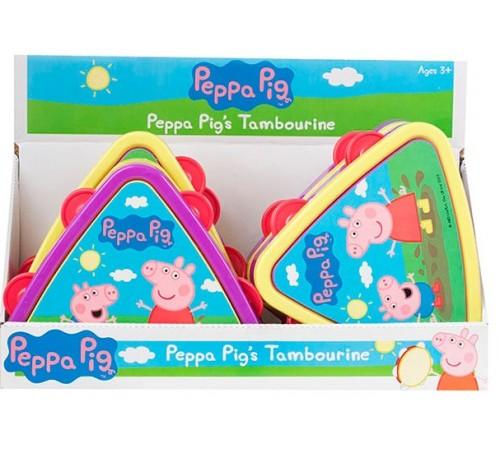 """peppa pig 1383265 Музыкальная игрушка """"Тамбурин"""""""