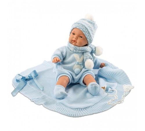llorens Интерактивная кукла Жоэль с пледом 38937 (38 см.)