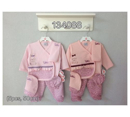Одежда для малышей в Молдове twetoon baby 134088 Набор из 5 единиц для новорожденных