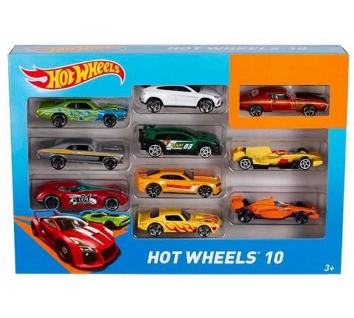 Jucării pentru Copii - Magazin Online de Jucării ieftine in Chisinau Baby-Boom in Moldova hot wheels 54886 set de mașină de bază (10 buc.)