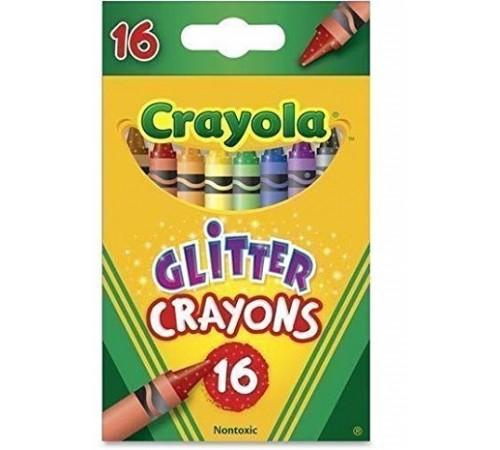 crayola 52-3716 Сreioane cerate cu paiete (16 buc.)