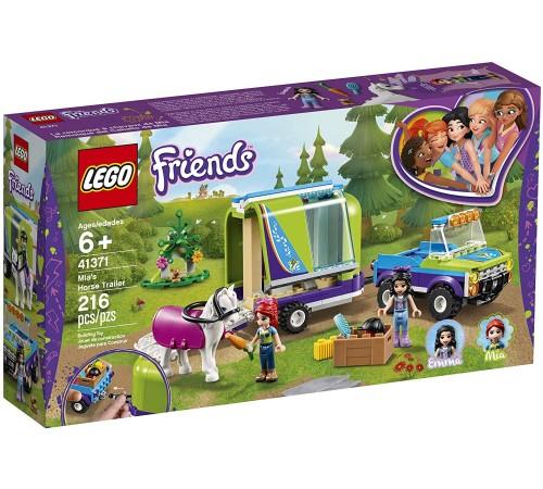 """lego friends  41371 Конструктор """"Трейлер для лошадки Мии"""" (216 дет.)"""