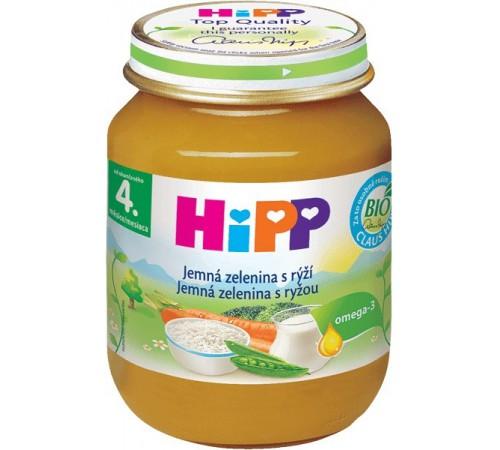 hipp 4023 Нежные овощи с рисом (4м+) 125 гр.