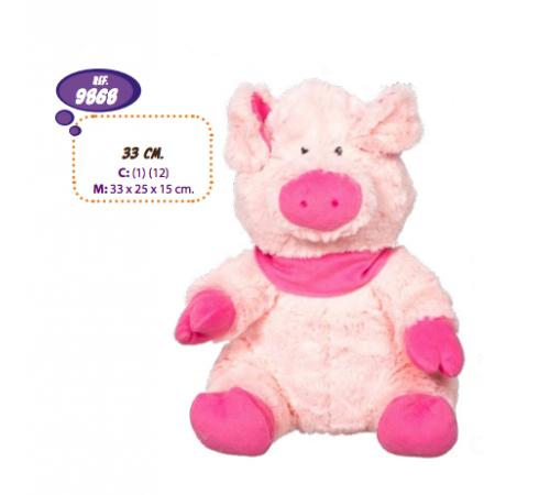 Детскиймагазин в Кишиневе в Молдове artesania beatriz 9868 Мягкая игрушка маленькая свинья 33 см