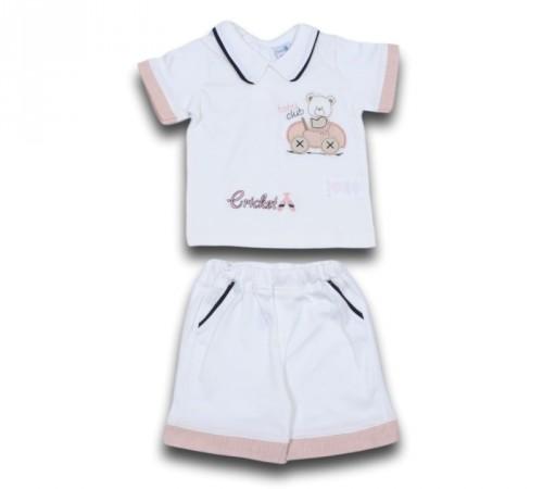 Одежда для малышей в Молдове twetoon baby 116051 Комплект летний (шорты и футболка)