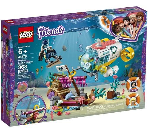 """lego friends 41378 Конструктор """"Спасение дельфинов"""" (363 дет.)"""
