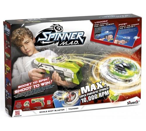 """spinner m.a.d. 86302 Бластер """"Молния"""" зелёный"""