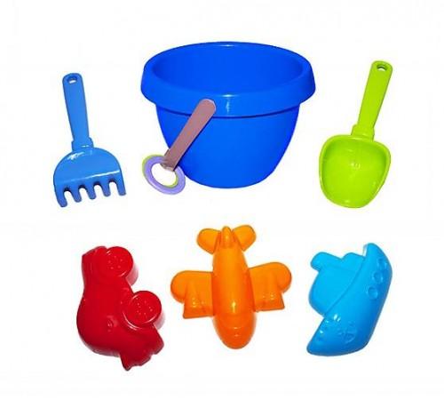 "Jucării pentru Copii - Magazin Online de Jucării ieftine in Chisinau Baby-Boom in Moldova colorplast 1036 set pentru nisip ""Кувшинка"" №1  in sort."