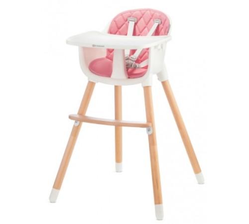 kinderkraft Стульчик для кормления sienna розовый