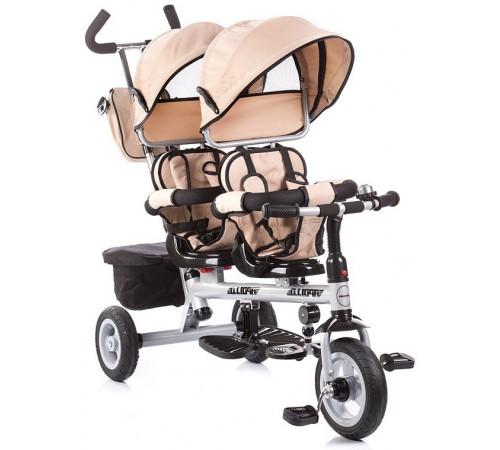 chipolino Трицикл для близнецов apollo trkp0164be бежевый