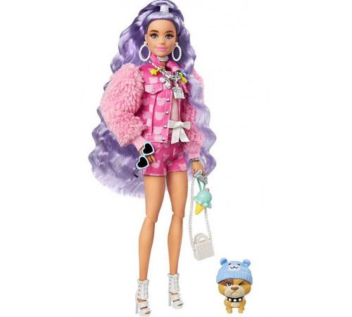 "barbie gxf08 Кукла ""extra"" с сиреневыми волосами"