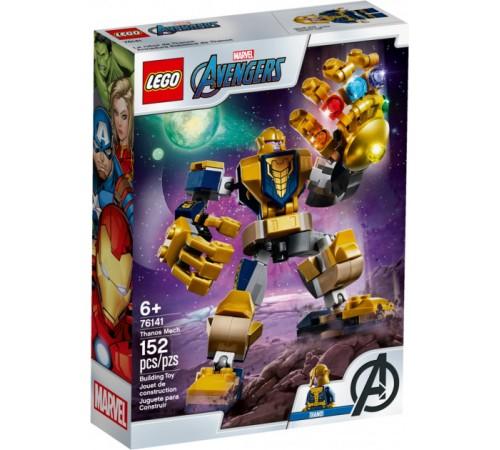"""lego super heroes 76141 Конструктор """"Танос: трансформер"""" (152 дет.)"""