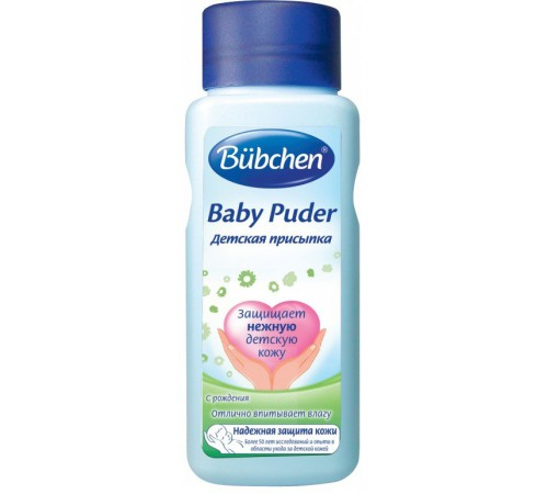 bubchen присыпка детская (100 гр)