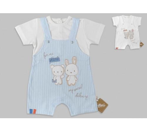 Одежда для малышей в Молдове flexi 236228 Песочник (62-68-74 см.) в асс.