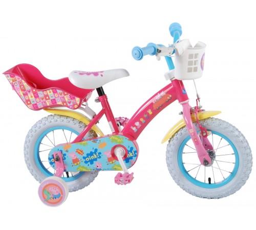 "volare bicicleta ""peppa pig 12"" 81264-ch roz"
