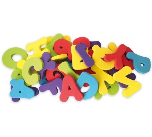 """Jucării pentru Copii - Magazin Online de Jucării ieftine in Chisinau Baby-Boom in Moldova nuby id6187 set de juc pentru înot """"alfabet""""  (36 buc.)"""