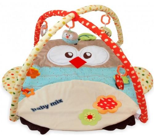 """Детскиймагазин в Кишиневе в Молдове baby mix  tk/3328c-3875 Игровой развивающий коврик """"Сова"""""""