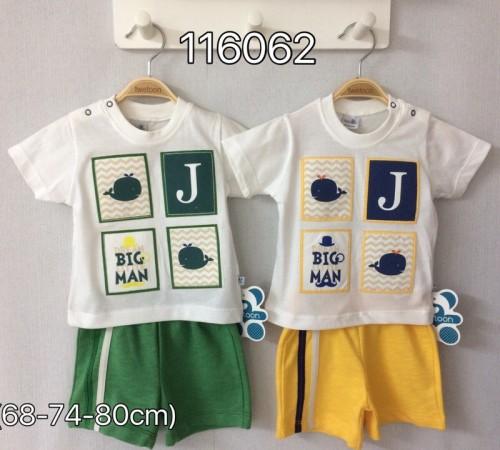 twetoon baby 116062 Комплект летний (шорты и футболка)