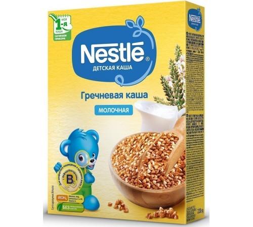 nestle Каша молочная гречневая 220 гр. (4 м+)