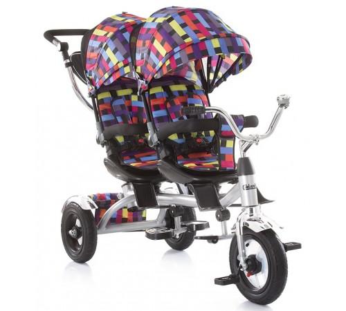 "chipolino Трицикл для близнецов ""tandem"" trkta0185mc цветной"