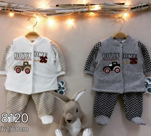 Одежда для малышей в Молдове twetoon baby  Комплект велюровый 2ед. (штанишки и батник) 118120