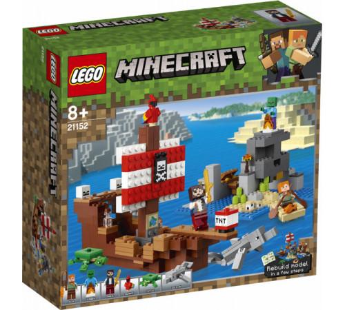 """lego minecraft  21152 Конструктор """"Приключения на пиратском корабле"""" (386 дет.)"""
