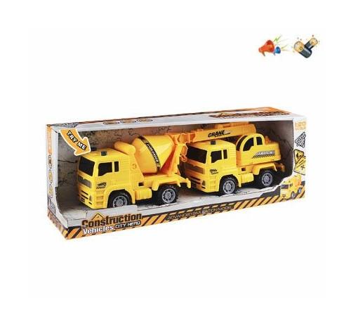 "Jucării pentru Copii - Magazin Online de Jucării ieftine in Chisinau Baby-Boom in Moldova op МЕ01.171 set de 2 mașini ""echipamente de construcții"""