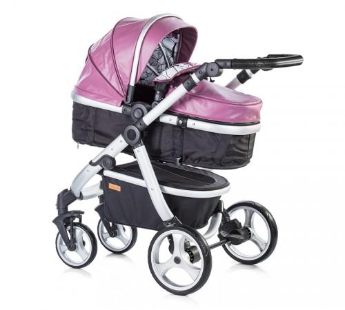 Детские коляски в Молдове chipоlino Коляска+автокресло nina  kknn0173pu розовая