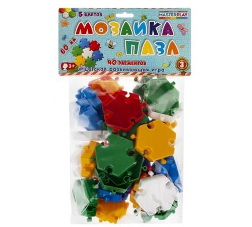 colorplast 1137 puzzle-mozaic no.3 (40 buc.)