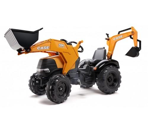"falk 997n tractor-excavator ""580 super n"" galben"