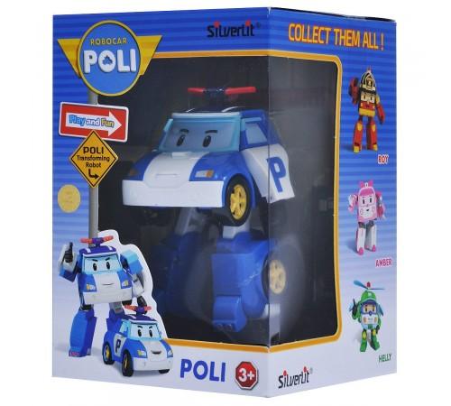 robocar poli 83171 Игрушка-трансформер Поли (10 см.)