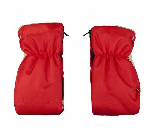womar mănuși pentru cărucior rosu