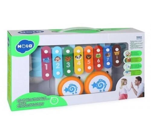 "hola toys 909 Музыкальная игрушка ""Ксилофон"""
