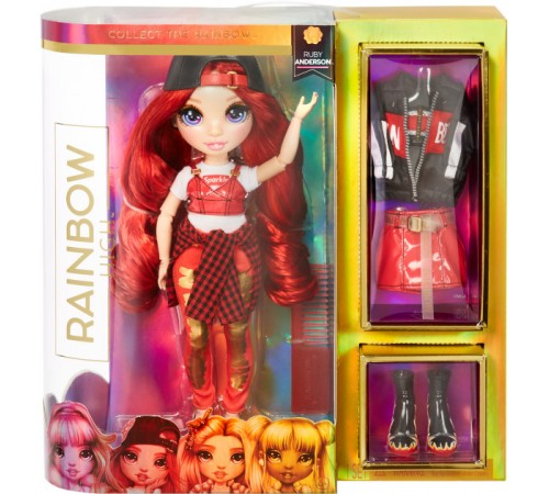 rainbow high 569619 Кукла Руби Андерсон с аксессуарами