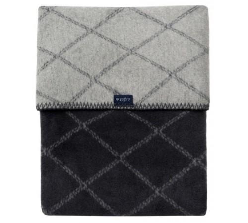 womar zaffiro Плед-одеяло ( 75х100 см.) серый/графит