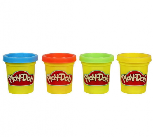 play-doh 23241  set de plastilina 4 mini borcane