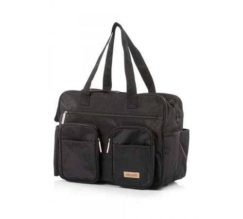chipolino geanta pentru mame chbag0176bl negru