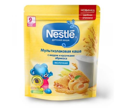 Детское питание в Молдове nestle Каша молочная мультизлаковая мед-абрикос 220 гр. (9 м +)12382859