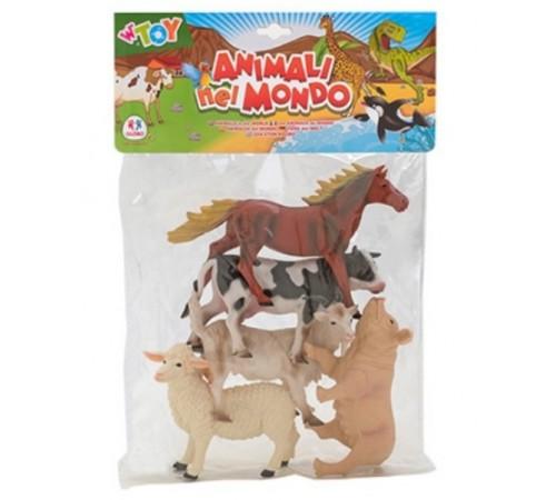 """globo 39541 Игровой набор w'toy """"Домашние животные"""""""