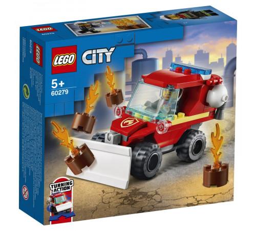"""lego city 60279 Конструктор """"Пожарный автомобиль"""" (87 дет.)"""