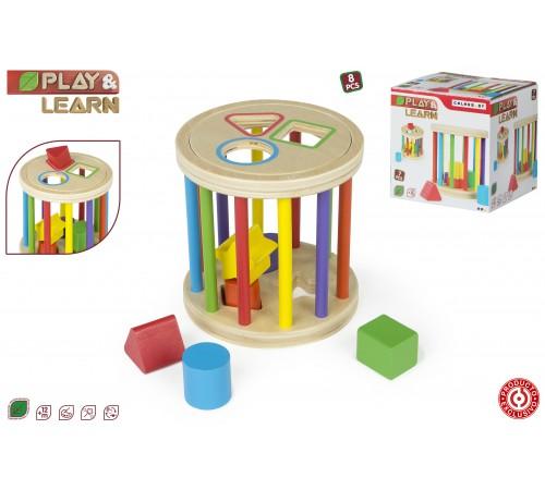 color baby 43618 Игрушка деревяная  play & learn
