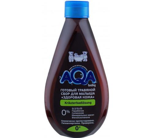 """80.45 aqa baby colectarea de plante pentru scăldat """"piele sănătoasă"""" (400 ml.)"""