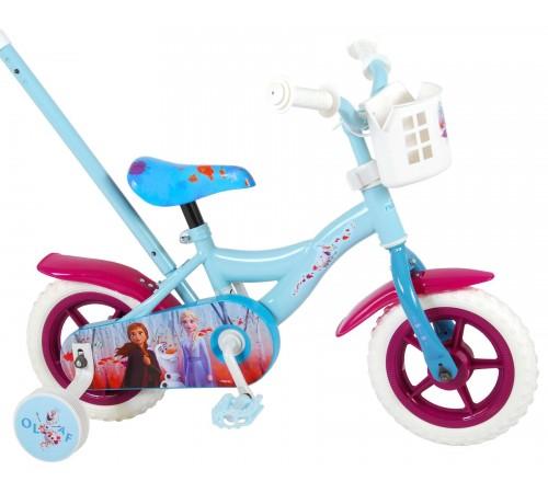 """volare Велосипед """"frozen2 10"""" 91050 голубой"""