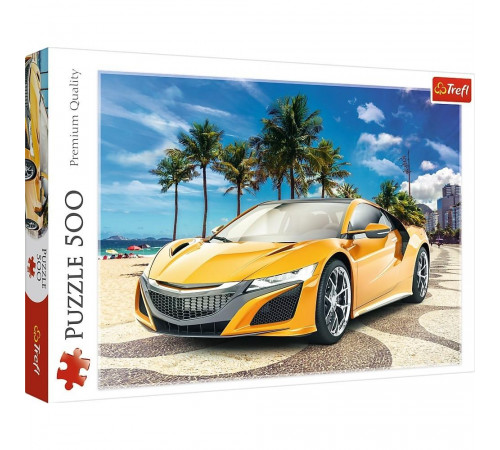 """trefl 37381 puzzle """"aventuri de vară"""" (500 el.)"""