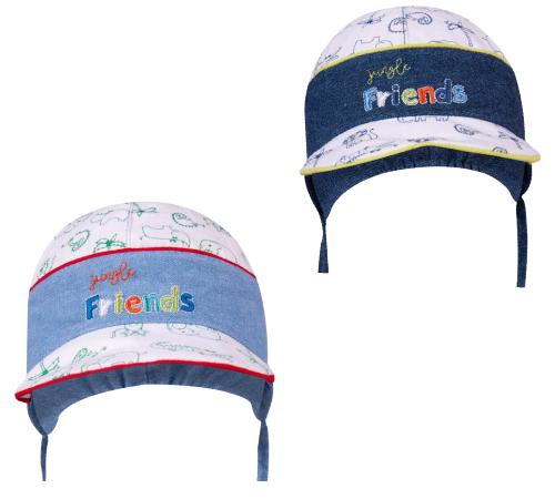 yoclub clu-088/tr/boy pălăria de vară (m. 38-42) în sort.
